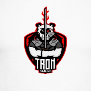 Tron Gaming Logo Transparent - T-shirt baseball manches longues Homme
