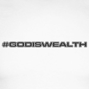 #godiswealth - T-shirt baseball manches longues Homme