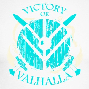 Victoire ou Valhalla (Viking Shirt) - T-shirt baseball manches longues Homme