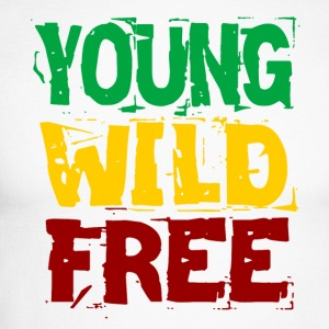 Young Wild Free - Langermet baseball-skjorte for menn