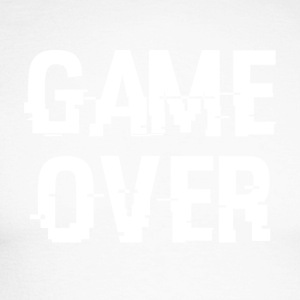 game Over - Langærmet herre-baseballshirt