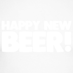 Happy New Beer! - Men's Long Sleeve Baseball T-Shirt
