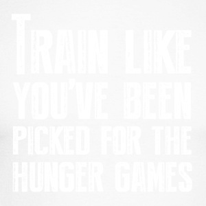 Train for the Hunger Games - Men's Long Sleeve Baseball T-Shirt