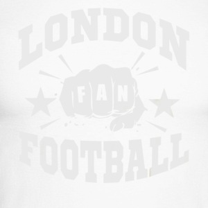 Londres Football Fan - T-shirt baseball manches longues Homme