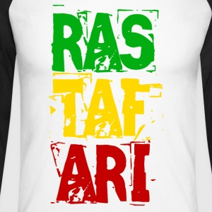 RASTAFARI - Men's Long Sleeve Baseball T-Shirt