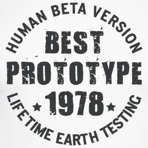 1978 - The year of birth of legendary prototypes - Men's Long Sleeve Baseball T-Shirt