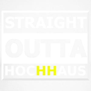 Straight Outta Hochhaus HH YELLOW - Men's Long Sleeve Baseball T-Shirt