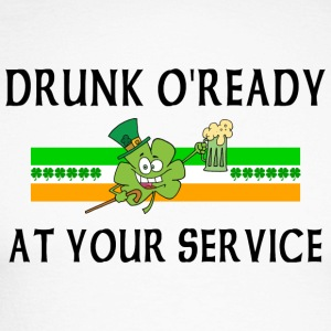 Irish Drunk - Langermet baseball-skjorte for menn
