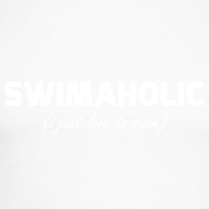 swimaholic (i adore nager) - T-shirt baseball manches longues Homme