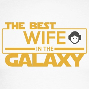 The Best Wife In The Galaxy - Men's Long Sleeve Baseball T-Shirt