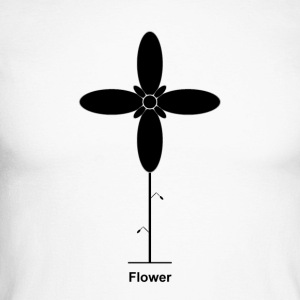 Geometry / special series / Flower / without background - Men's Long Sleeve Baseball T-Shirt
