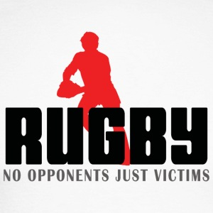 Rugby No Opponents Just Victims - Men's Long Sleeve Baseball T-Shirt