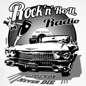 Radio rockandroll 03 - Men's Long Sleeve Baseball T-Shirt