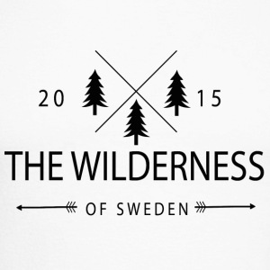 The Wilderness Of Sweden - Men's Long Sleeve Baseball T-Shirt
