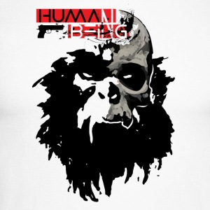 Human Being - Men's Long Sleeve Baseball T-Shirt