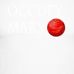 Occupy March Space - Männer Baseballshirt langarm