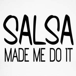Salsa made me do it - black - Mambo New York - Men's Long Sleeve Baseball T-Shirt