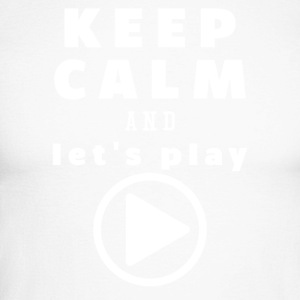 Keep Calm And Let's Play - Männer Baseballshirt langarm