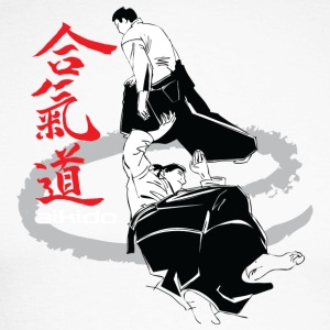 Martial arts Aikido - Men's Long Sleeve Baseball T-Shirt