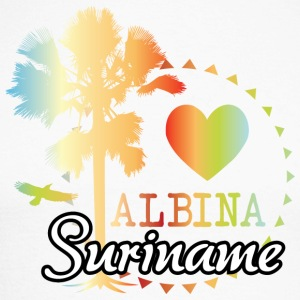 I Love Albina - Langermet baseball-skjorte for menn