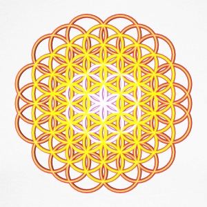 Flower of Life - Flower of Life - Men's Long Sleeve Baseball T-Shirt