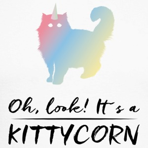 Cat! Unicorn! - Langermet baseball-skjorte for menn