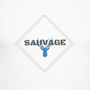 SAUVAGE - T-shirt baseball manches longues Homme
