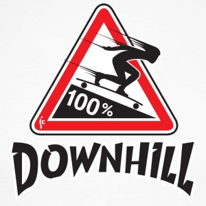 longboard downhill - T-shirt baseball manches longues Homme