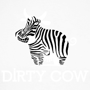 DIRTY_COW_white - Raglán manga larga hombre