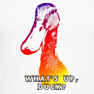 what's up duck - Color - Mannen baseballshirt lange mouw