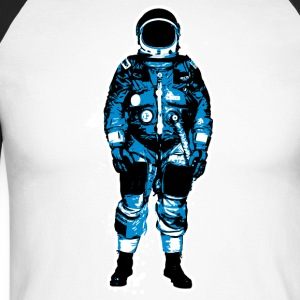 astronaut Grunge - Men's Long Sleeve Baseball T-Shirt