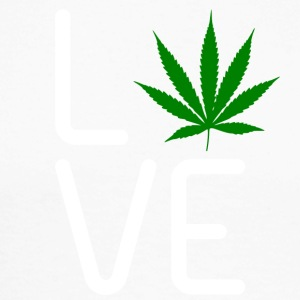 LOVE MARIHUANA - Men's Long Sleeve Baseball T-Shirt