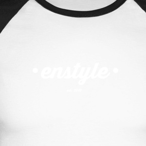 enstyle - T-shirt baseball manches longues Homme