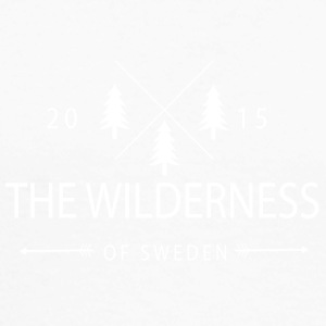 The Wilderness Of Sweden - Langermet baseball-skjorte for menn