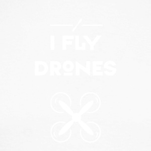 drone fly Quadrocopter pilot air avgang propell - Langermet baseball-skjorte for menn