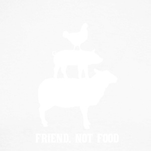 Friend. Not food - Männer Baseballshirt langarm