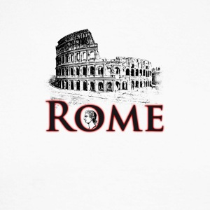 Rome italy holiday Colosseum caesar antique travel gif - Men's Long Sleeve Baseball T-Shirt