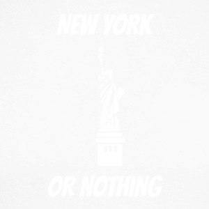 New York or nothing at all - Men's Long Sleeve Baseball T-Shirt