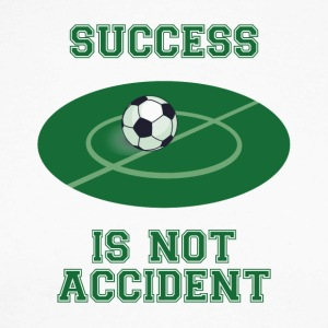 Fußball: Success is not Accident - Männer Baseballshirt langarm