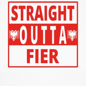 Straight outta Fier Albania - Men's Long Sleeve Baseball T-Shirt