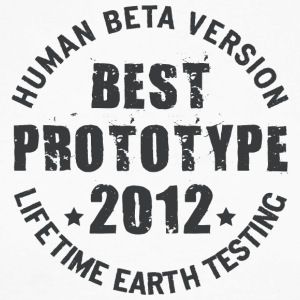 2012 - The birth year of legendary prototypes - Men's Long Sleeve Baseball T-Shirt
