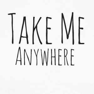 Take Me Anywhere - Langermet baseball-skjorte for menn