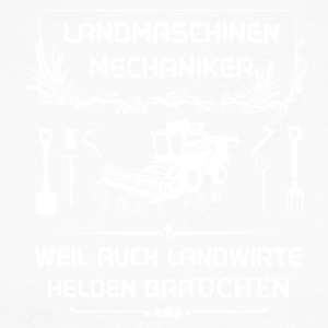 Landwmaschinenmechaniker - Because even farmers Hel - Men's Long Sleeve Baseball T-Shirt