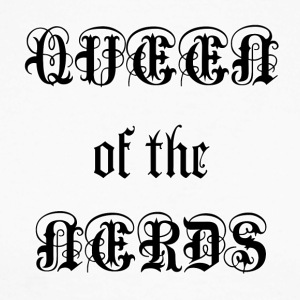 Queen of the Nerds - Maglia da baseball a manica lunga da uomo