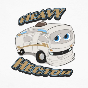 Heavy Hector - Men's Long Sleeve Baseball T-Shirt