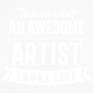 Awesome Artist - Langermet baseball-skjorte for menn