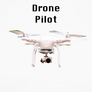 pilote drone - T-shirt baseball manches longues Homme