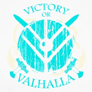 VICTORY OF VALHALLA - Men's Long Sleeve Baseball T-Shirt
