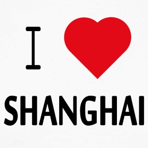 Love Shanghai - Langermet baseball-skjorte for menn