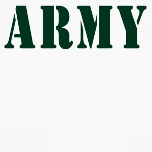 ARMY - Langermet baseball-skjorte for menn